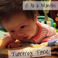 Activities for Infants 0-6 Months - Tummy Time