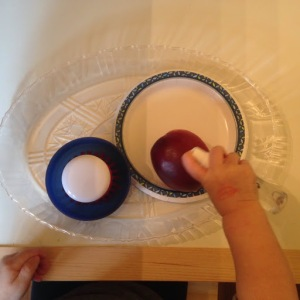 Fruit Scrubbing