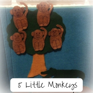 5 Little Monkeys