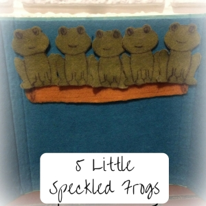 5 LittleSpeckled Frogs
