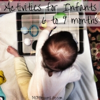 Activities for Infants 6 to 9 Months Old