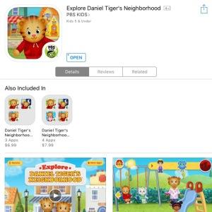 daniel tiger app 2