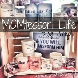 MOMtessori Life Blog Shop on Etsy