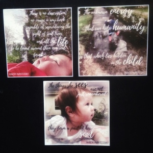 montessori picture quotes 3 pack magnets etsy pic