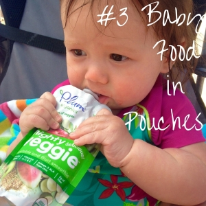 #3 Baby Food in Pouches
