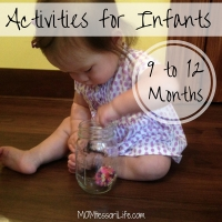 Activities for Infants -- 9 to 12 Months