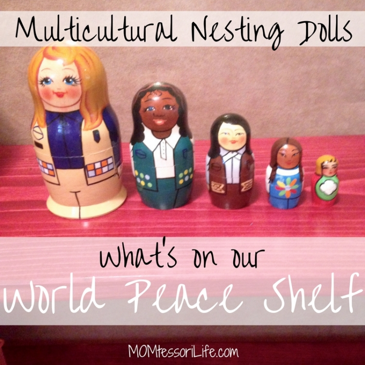 Multicultural Nesting Dolls