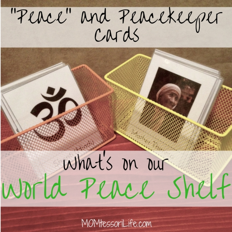 peace and peacekeeper cards