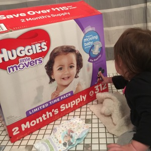 exploring the diaper box