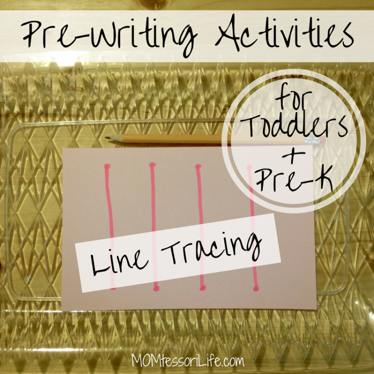 Pre Writing Activities For Toddlers And Preschoolers Line Tracing