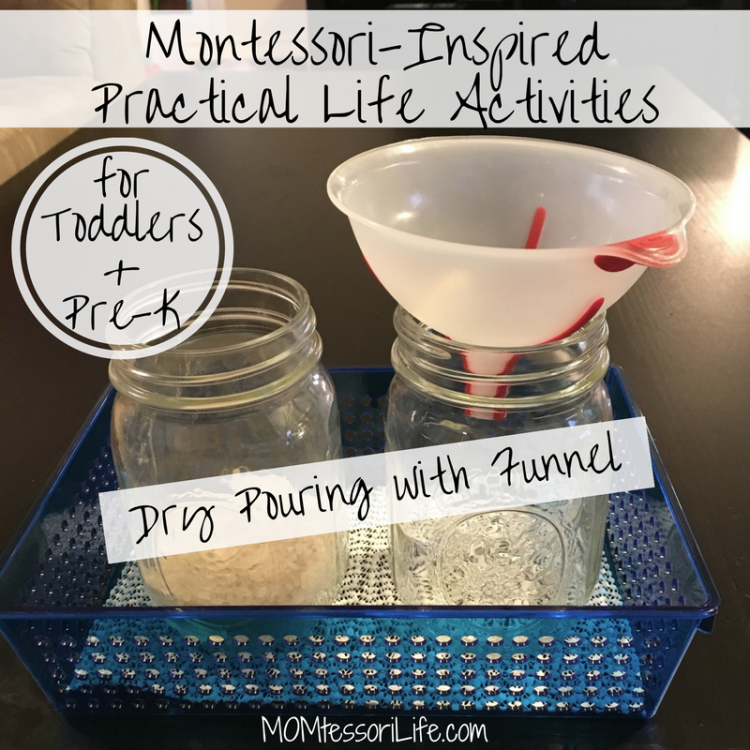 Montessori Inspired Practical Life Activities For Toddlers And