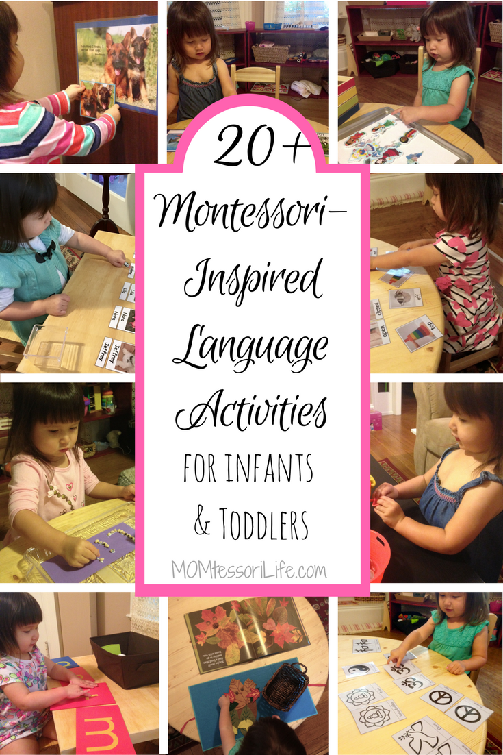 20+ Montessori-Inspired Language Activities for Infants and Toddlers ...