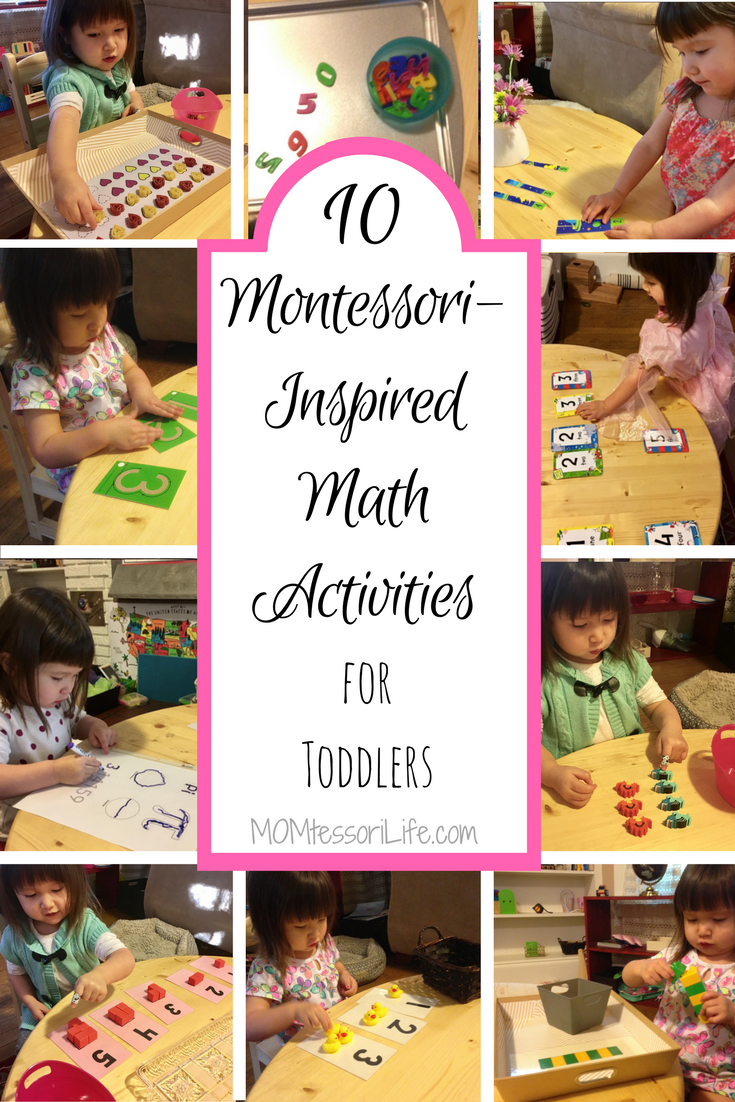 10 Montessori-Inspired Math Activities for Toddlers – MOMtessori Life