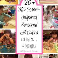 20+ Montessori-Inspired Sensorial Activities for Infants and Toddlers