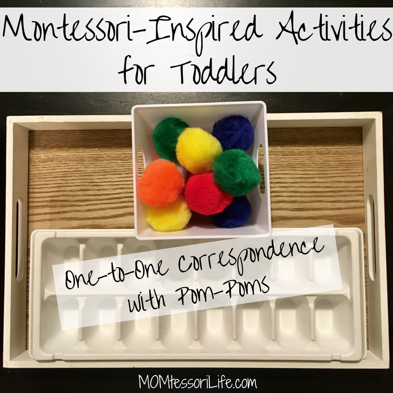Montessori Inspired Activities For Toddlers One To One
