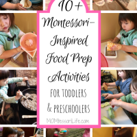 10+ Montessori-Inspired Food Prep Activities for Toddlers and Preschoolers