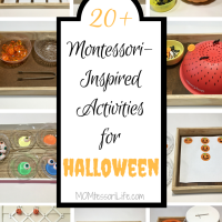 20+ Montessori-Inspired Activities for Halloween