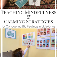 Teaching Mindfulness & Calming Strategies for Conquering Big Feelings in Little Ones