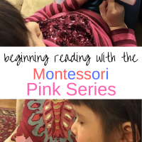 Beginning Reading with the Montessori Pink Series