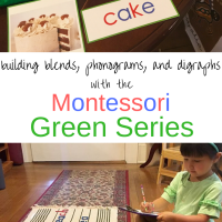 Building Blends, Phonograms, and Digraphs with the Montessori Green Series