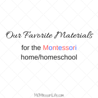 Our Favorite Materials