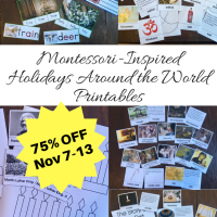 Montessori-Inspired Holidays Around the World Printables