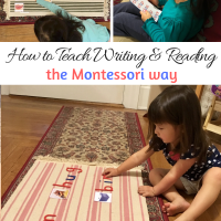 How to Teach Writing & Reading the Montessori Way