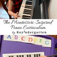 The Montessori-Inspired Piano Curriculum by Keyndergarten