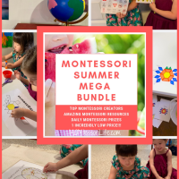 Montessori Summer Mega Bundle -- Limited Time Only!!!