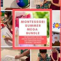 Montessori Summer Mega Bundle -- Limited Time Only!!!