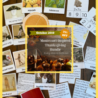 Montessori-Inspired Thanksgiving Printables