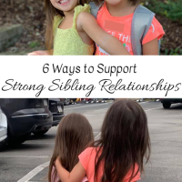 6 Ways to Support Strong Sibling Relationships