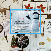 Montessori Winter Mega Bundle - Limited Time Only!